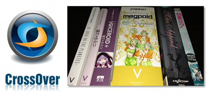 CrossOverMac+Vocaloid,Voiceroid